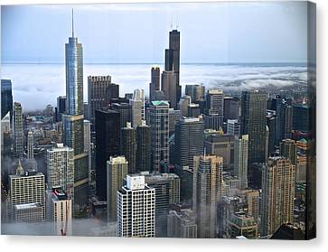 Chicago Fog Canvas Print