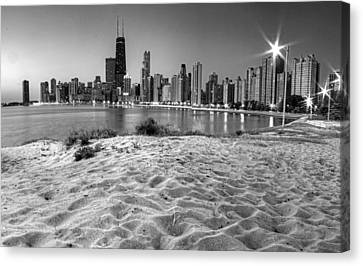 Chicago From North Beach Canvas Print by Twenty Two North Photography