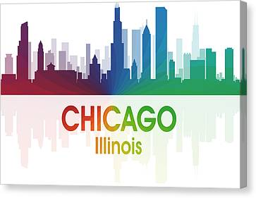 Chicago Il Canvas Print by Angelina Vick