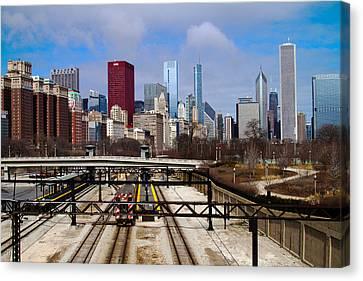 Chicago Metro Canvas Print