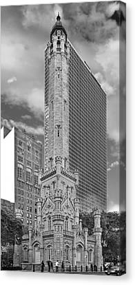 Chicago - Old Water Tower Canvas Print by Christine Till