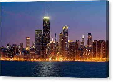 Chicago Panorama Canvas Print by Donald Schwartz
