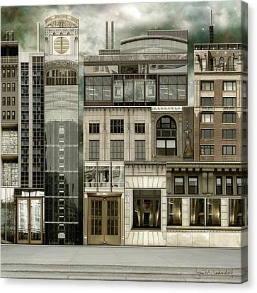 Chicago Reconstruction 2 Canvas Print