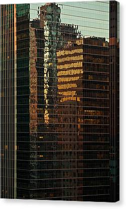 Chicago Reflected Canvas Print by Steve Gadomski