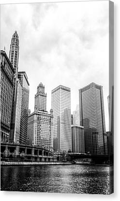Chicago River II Canvas Print by Drew Castelhano