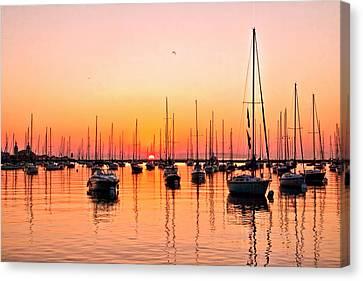 Chicago Sunrise Canvas Print
