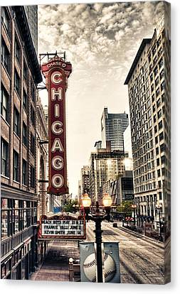 Chicago Theater Canvas Print