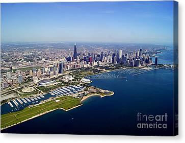 Chicago To North 2 Canvas Print by Bill Lang