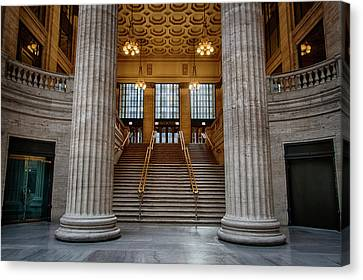 Chicago Union Station Stairs Canvas Print