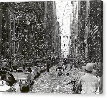 Chicago Welcomes Apollo 11 Astronauts Canvas Print by Nasa