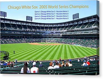 Chicago White Sox 2005 World Series Champions 04 Canvas Print