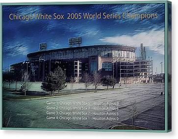 Chicago White Sox 2005 World Series Champions Canvas Print