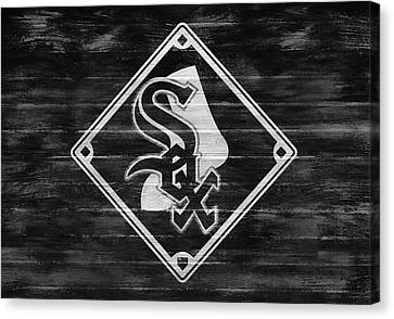 Chicago White Sox Barn Door Canvas Print