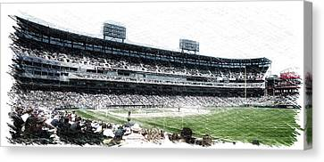 Chicago White Sox Seating Panorama 02 Pa 01 Canvas Print