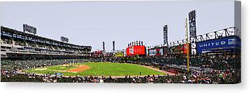 Chicago White Sox Seating Panorama 03 Pa 01 Canvas Print