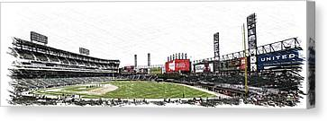 Chicago White Sox Seating Panorama 03 Pa 02 Canvas Print