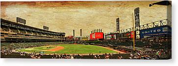 Chicago White Sox Seating Panorama 03 Textured Canvas Print