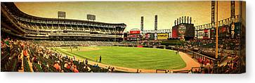 Chicago White Sox Seating Panorama 07 Textured Canvas Print
