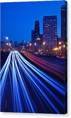 Chicagos Lake Shore Drive Canvas Print by Steve Gadomski