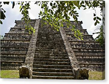 Chichen Itza 3 Canvas Print by Douglas Barnett