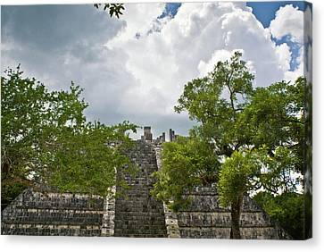 Chichen Itza 4 Canvas Print by Douglas Barnett
