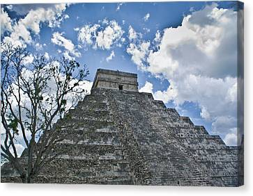 Chichen Itza 5 Canvas Print by Douglas Barnett