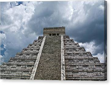 Chichen Itza 7 Canvas Print by Douglas Barnett
