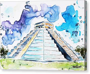 Chichen Itza Canvas Print by Shaina Stinard