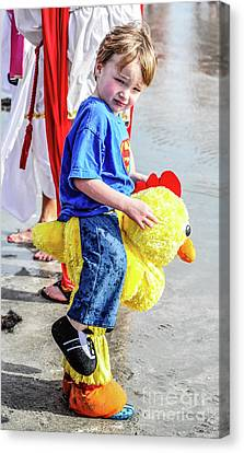 Chick Canvas Print