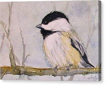 Chickadee Dee Dee Canvas Print