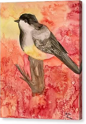 Chickadee  Canvas Print by My Art