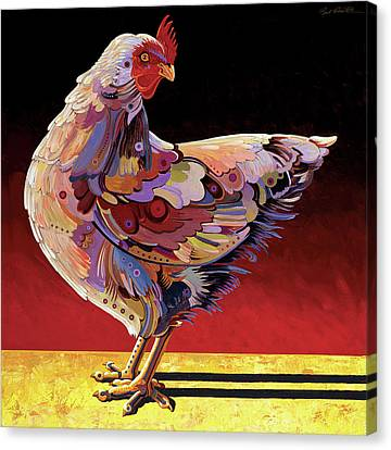 Chickenscape II Canvas Print by Bob Coonts