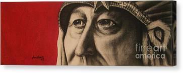 Chief Canvas Print by Anastasis  Anastasi