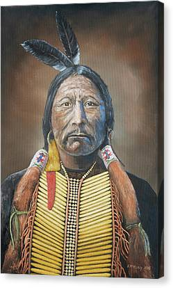 Chief Buckskin Charley Canvas Print