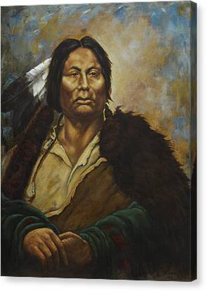 Chief Gall Canvas Print