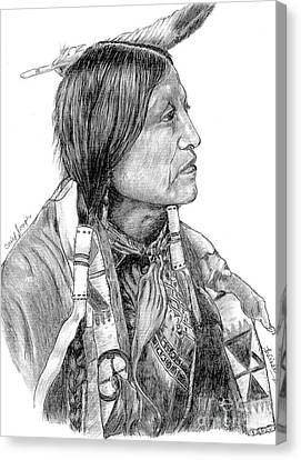 Chief Joseph Of Nes Perce Canvas Print