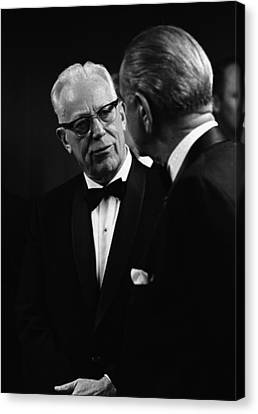 Chief Justice Earl Warren 1891-1974 Canvas Print by Everett