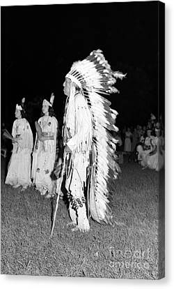 Chief  Red Bird Canvas Print by Larry Keahey