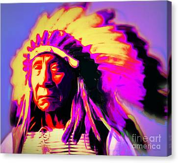 Chief Red Cloud 20151230 Canvas Print