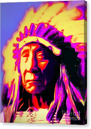 Chief Red Cloud 20151230v2 Vertical Canvas Print