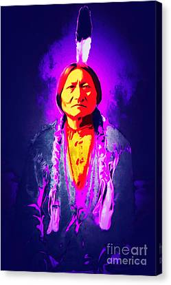 Chief Sitting Bull 20160103 Canvas Print