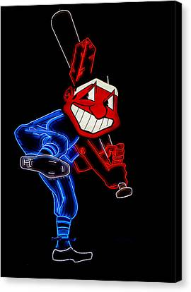 Chief Wahoo Canvas Print