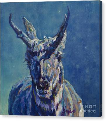 Pronghorn Antelope Canvas Print - Chief Washikie by Patricia A Griffin