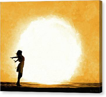 The Universe Canvas Print - Child Of The Universe by Mark Tisdale