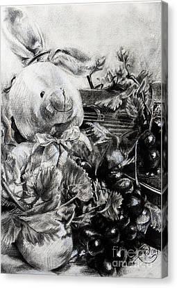 Childandmusic Canvas Print by Roa Malubay