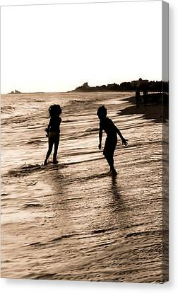 Canvas Print featuring the photograph Childhood Memories by Laura DAddona