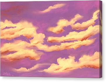 Childhood Memories - Sky And Clouds Collection Canvas Print by Anastasiya Malakhova