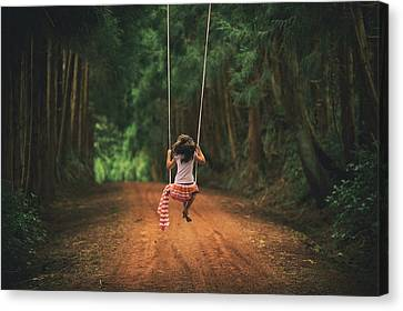 Childhood Canvas Print by Rui Caria