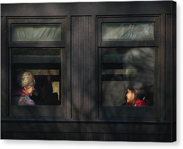 Children - Generations Canvas Print by Mike Savad