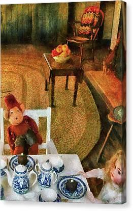 Children - Toys - The Tea Party Canvas Print